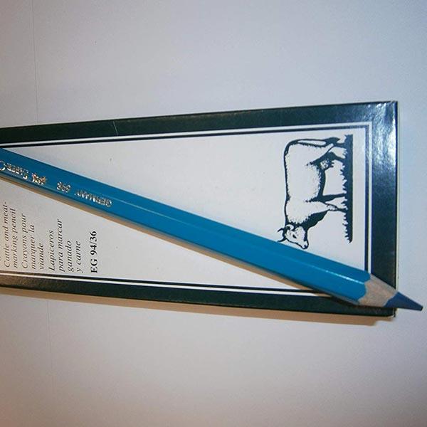 Creioane de marcat carne albastre